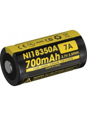 Acumulator IMR18350 Nitecore NI18350A 700 mAh