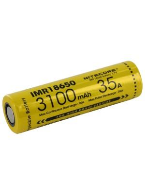 Acumulator IMR18650 Nitecore 3100 mAh, 35A