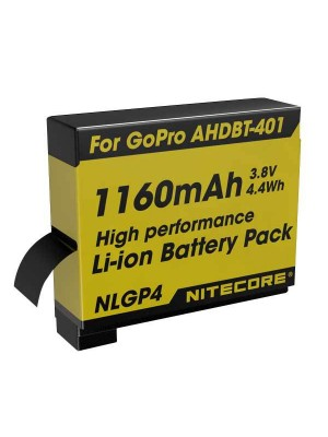 Nitecore NLGP4 (Acumulator pentru Camera GoPro HERO4)