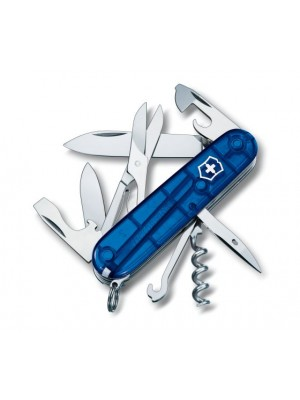 Briceag multifunctional Victorinox Climber (Swiss Army) Albastru Transparent
