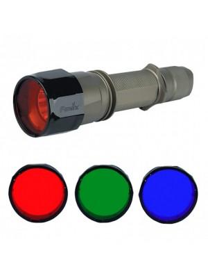 Filtru adaptor albastru pentru lanterne LED Fenix TK