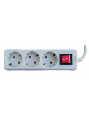 TED Electric, Prelungitor 3 prize schuko + Intrerupator cablu
