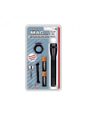 Lanterna Mini Maglite M2AC, 2 x AA 14 lumeni combo
