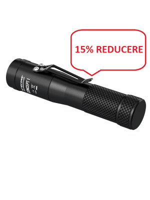 Pachet Nitecore Concept 1+F2+NL1835HP, 1800 Lumeni, 220 Metri, Lanternă Profesionala, Incarcator USB, Acumulator 18650