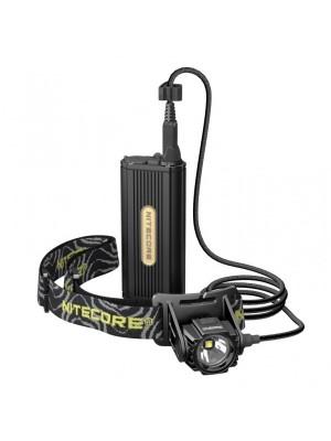 Pachet Nitecore HC70 + NL1826R, Lanterna Frontala + Acumulator 18650
