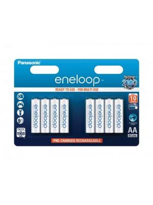 Panasonic Eneloop BK-3MCCE8BE, Acumulatori AA