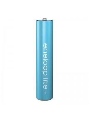 Panasonic Eneloop Lite BK-4LCCE/4BE, Acumulatori AAA, 550 Mah, NiMh, Blister 4