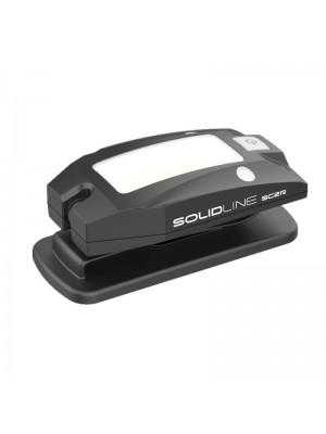Led Lenser SolidLine SC2R, Lanternă Clip Led Reîncărcabilă USB, 100 Lumeni, 2 Metri