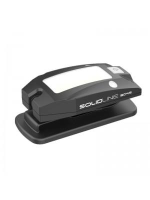 Led Lenser SolidLine SC4R, Lanternă Clip Led Reîncărcabilă USB, 200 Lumeni, 2 Metri