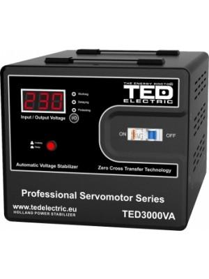TED Electric, Stabilizator de tensiune cu servomotor, AVR, 3000VA