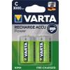 Varta 56714 Ready to Use, Acumulatori NiMH R14 (C), 3000 mAh