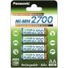 Panasonic BK-3HGAE/4BE, Acumulatori AA, 2700 mAh, NIMH, Blister 4