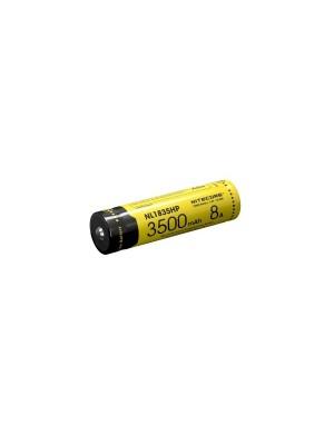 Pachet Nitecore MH23 + NL1835HP, Lanternă Profesionala, Reîncărcabilă Micro USB, 1800 Lumeni, 294 Metri, Acumulator 18650, Li-Ion, 3500 mAh, PCB, 8A
