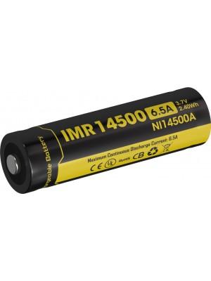 Nitecore NI14500A, Acumulator IMR14500, Li-Mn, 650 mAh, 6.5A