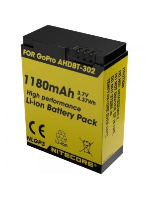 Acumulator Nitecore NLGP3 pentru Camera GoPro HERO3/ 3+
