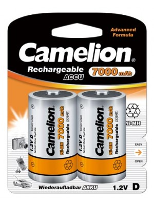 Acumulatori R20 Camelion NiMH 7000 mAh (D)
