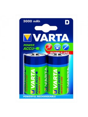Varta Ready to Use, Acumulatori NiMH R20 (D), 3000 mAh