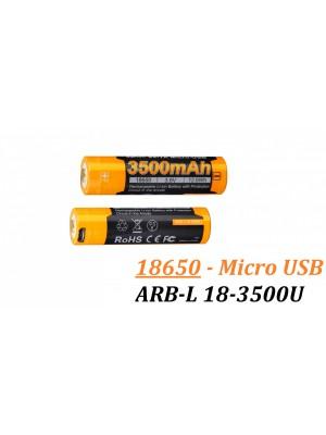 Acumulator Fenix ARB-L 18-3500U 18650 Li-Ion 3500 mAh