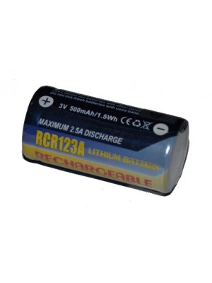 Connect, Acumulator Foto Li-ion, RCR123A, 500 mAh