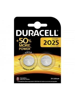 Duracell DL2025, Baterie Litiu CR2025, 3V, Blister 2