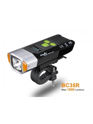Fenix BC35R, Far Bicicletă, Reîncărcabil Micro USB, 1800 Lumeni, 146 Metri