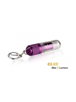 Fenix CL05 (Minilanternă, Violet)