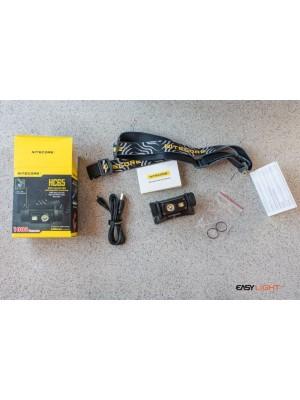 Nitecore HC65, Frontală Profesionala, Reîncărcabilă USB, 1000 Lumeni, 110 Metri