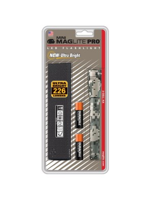Lanternă Mini MagLite Pro LED 2AA camuflaj