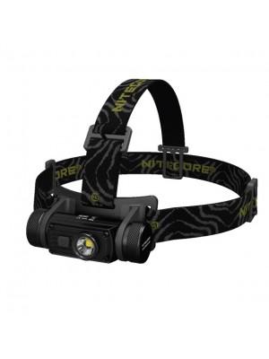 Nitecore HC60W, Lanterna Frontală, Reincarcabila USB, Lumină Neutră, 1000 Lumeni, 117 Metri