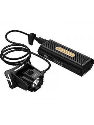Nitecore HC70, Frontală Profesionala, Reîncărcabilă Micro USB, 1000 Lumeni, 182 Metri