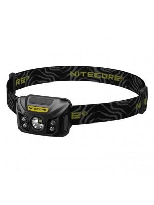 Nitecore NU30, Lanterna Frontală, Reîncărcabilă USB, Neagra, 400 Lumeni, 121 Metri