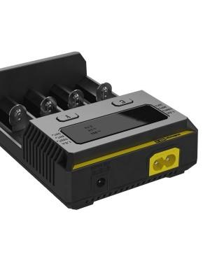Pachet AceBeam X80 + Nitecore I4, Lanternă Profesionala, 25000 Lumeni, 332 Metri, Incarcator Universal + Acumulatori 18650