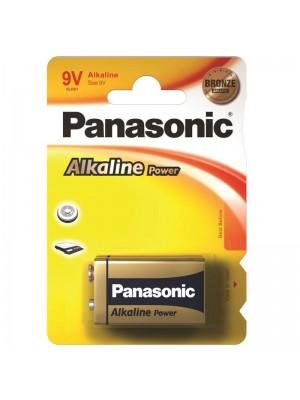 Panasonic 6LR61APB/1BP Alkaline Power, Lasting Energy, Baterie Alcalină, 9V, Blister 1