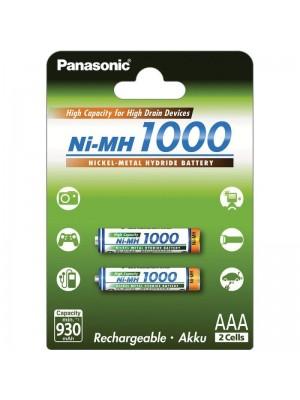 Panasonic BK-4HGAE/2BE, Acumulatori AAA, 1000 mAh, NiMH, Blister 2
