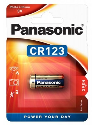 Panasonic CR-123AL, Baterie Litiu CR123A, 3V, Blister 1