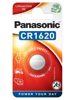 Panasonic CR-1620EL, Baterie Litiu CR1620, 3V, Blister 1
