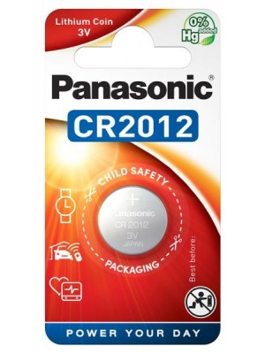 Panasonic CR-2012EL, Baterie Litiu CR2012, 3V, Blister 1