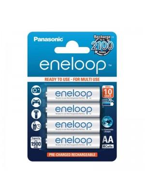 Panasonic Eneloop BK-3MCCE.4BE, Acumulatori AA, 1900 Mah, NiMh, HR6