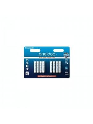 Panasonic Eneloop BK-4MCCEC/8BE, Acumulatori AAA, 750 Mah, NiMh, Blister 8