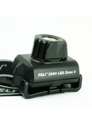 Peli HeadsUp Lite 2690Z0, Lanternă Frontală, ATEX, Zona 0, 74 Lumeni, 92 Metri