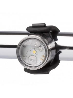 LED Lenser SEO B2R, Semnalizator Bicicleta, Alb, Reincarcabil USB, 30 Lumeni