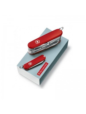 Victorinox Set Duo Swiss Champ, Multi-Tool Roșu