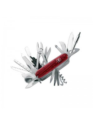 Victorinox Swiss Champ XLT, Multi-Tool Roșu transparent