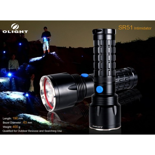 Lanterna LED Olight SR51 Intimidator