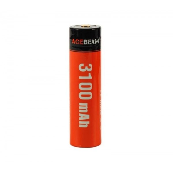 AceBeam ARC18650H-USB, Acumulator 3100 mAh, Reîncărcabil USB