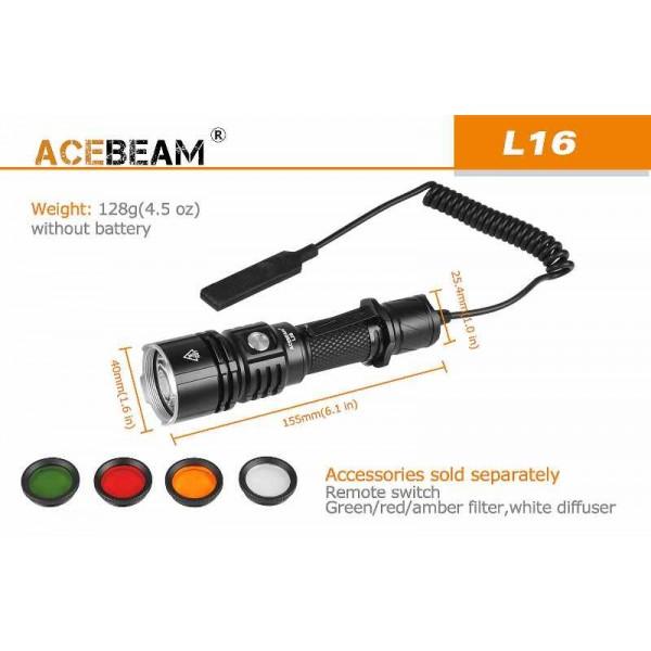 AceBeam L16, Lanternă Led