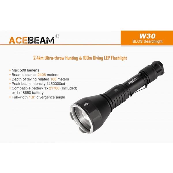 AceBeam W30, Lanterna Laser