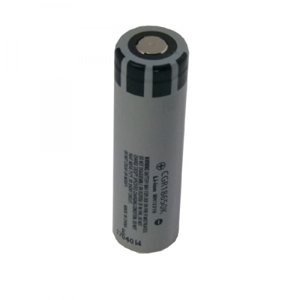 Acumulator 18650 Li-Ion 1650 mAh PANASONIC (MH12210) CGR18650K (Contact Plat)