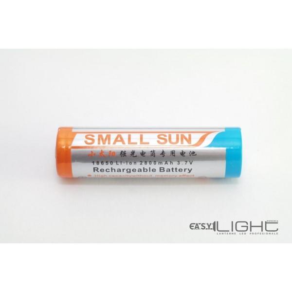 Acumulator 18650 Li-Ion 2800 mAh SMALL SUN