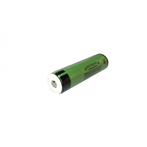 Acumulator 18650 Li-Ion 3400 mAh Panasonic NCR18650B (Contact Buton) cu Protectie